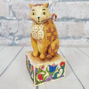 Jim Shore Jasper Calico Cat Figurine 2003 Folk Art